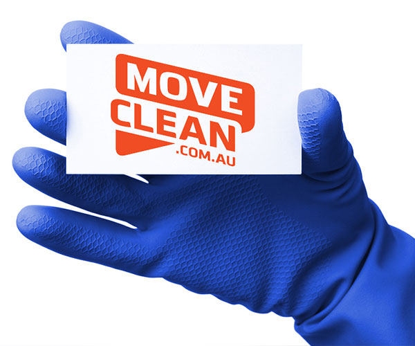 Rubber glove holding card